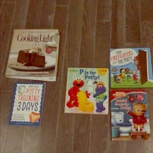 Potty books for toddler and mom